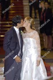 Groom Carlo Ponti Jnr bride Andrea Meszaros Redaktionelles Stockfoto –  Stockbild