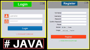 Java Project Design Example Java Project Tutorial Make Login And Register Form Step By Step Using Netbeans And Mysql Database