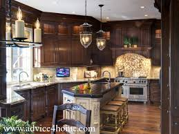 Small Picture Unique Modern Cherry Wood Kitchen Cabinets Gorgeous With