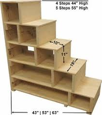 bunk bed with stairs. Steps \u0026 Shelves Bunk Bed With Stairs I