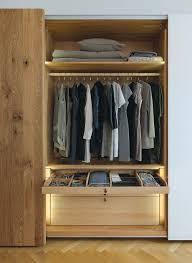 Moderner Begehbarer Kleiderschrank Holz Team 7