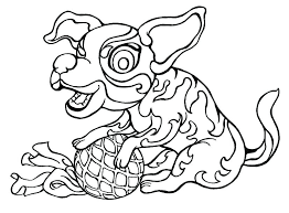 Coloring Pages Littlest Pet Shop Animals Cat Store Page Pets 4 For