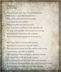 mirror by sylvia plath i love this poem ♥ poetry   mirror by sylvia plath myphotoedit