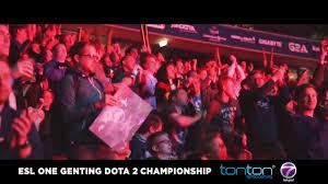 live stream esl one genting dota 2 championship free on tonton