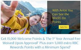 Rewards Canada Rbc Visa Infinite Avion Up To 20 000 Bonus
