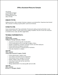 Resume Examples For Jobs Simple Sample Job Resume Examples Putasgae