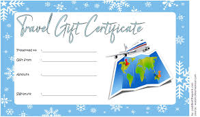 travel voucher template free travel voucher gift certificate template free 3 one package