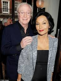 young michael caine wife. Modren Michael Still Going Strong Sir Michael Has Been Married To Guyanese Actress  Shakira Caine Since 1973 Inside Young Wife H