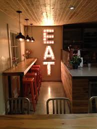 Vintage Eat Marquee Letters