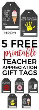best images about gifts for gym coach teaching printable teacher appreciation tags