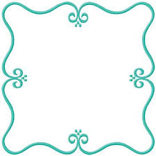 Scroll Border Designs Square Scroll Border Embroidery Design