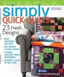 Quick Quilts magazine 83 Fall 2007: kids quilts, 11 simple quilt ... & McCall's Quilting Simply Quick Quilts Magazine - only $5.39!  http://lisasstitchingpost. Adamdwight.com