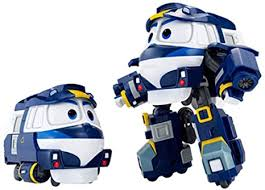 Korean Animation <b>Robot Train</b> Transformer Train Robot character ...