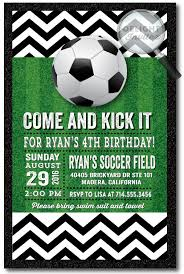 Soccer Party Invitations Soccer Party Birthday Invitations Di 432 Harrison Greetings