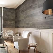 megève grey pvc wall panel wood