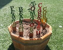 Decorative Metal Yard Signs Metal garden flowers Etsy 46