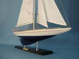 wooden enterprise limited model sailboat decoration 35