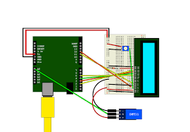 arduino and dht11 output to lcd module hive rd blog dht11 arduino lcd wiring diagram