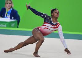 floor gymnastics olympics. US Gymnast Simone Biles Competes In The Floor Event During Women\u0027s Team Final Artistic Gymnastics Olympics