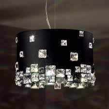 black crystal pendant light mosaix 8578098 01