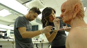 mud alumni cat paschen and niko gonzalez create hoggle at make up designory by
