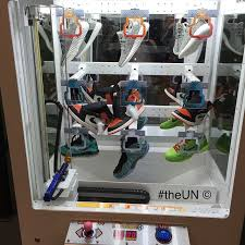 Sneaker Vending Machine For Sale Mesmerizing A Store Turned Your Favorite Childhood Arcade Game Into A Sneaker
