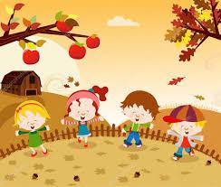 Znalezione obrazy dla zapytania jesień - obrazki z dziećmi