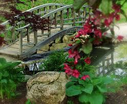 build a garden bridge with your own hands