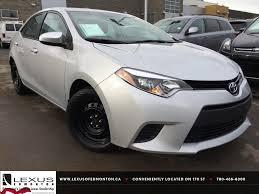 Used Silver 2014 Toyota Corolla CVT LE Review   Lacombe Alberta ...