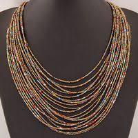 <b>SPX5397 New Fashion Bohemian</b> Bead Necklaces fashion ...