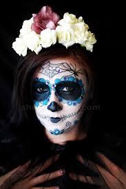 sugar skull makeup tutorial