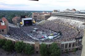 Cu Folsom Field Seating Chart Traffic Parking Impacts From Summer Concerts At Folsom
