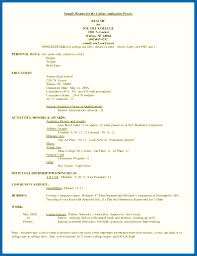 How To Write A Cv Letter For A Job Resume Examples Example College