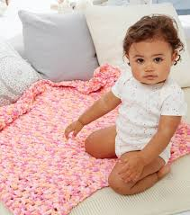 Bernat Baby Blanket Yarn Patterns Gorgeous Simple Baby Blanket JOANN