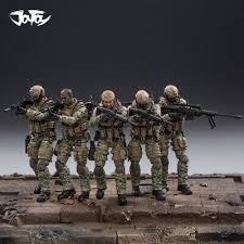 Us Army Cavalry Joytoy 1 18 Us Army Cavalry Regiment Action Soldier Toys 5 Figures Set Jtus004 Ebay