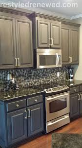 kitchen paint colors with linen cabinets awesome cabinets annie sloan chalk paint in graphite dark wax