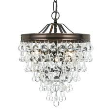 af lighting elements crystal teardrop mini chandelier luxury small fixture with champagne ystal y