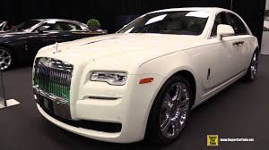 rolls royce ghost white 2015. 2015 rollsroyce ghost serie ii exterior and interior walkaround montreal auto show youtube rolls royce white