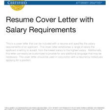 salary request in cover letter fascinating photo salary range cover letter images photo salary range sample of cover letter with salary requirements