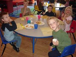 testimonials and pictures from miss christineu0027s prek class snack time 2 preschool lunch table37 lunch