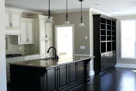 grey cabinets black countertops combined with and appliances wall colors for white kitchen