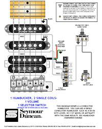 hb sing vol switch jpg 1 humbucker 2 singles 5 way switch 1 volume