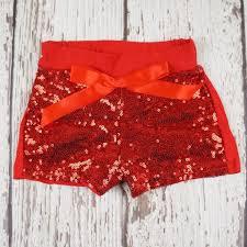 Posh Peanut Size Chart Red Sequin Shorts Posh Peanut Childrens Luxury Boutique