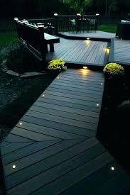 led deck lights landscape outdoor lighting