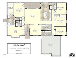4 Bedroom Floor Plans One Story 4 Bedroom House Floor Plan 4 Bedroom House  Plans Unique .
