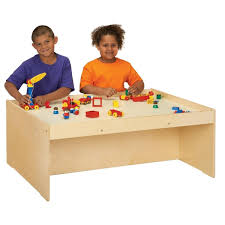 centerline birch wood activity table