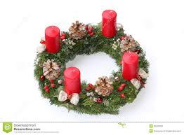 Advent Wreath Decorations Advent Wreath Without Candles And Decoration Royalty Free Stock