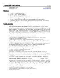 Software Qa Manager Superb Qa Resume Sample Free Career Resume