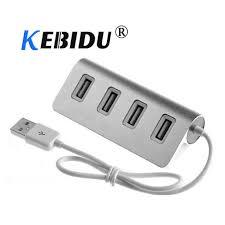 kebidu USB <b>HUB 4</b> Port High Speed <b>USB 2.0 Hub</b> USB Port Multi ...