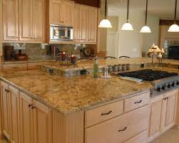 Granite Counter Tops for Beautiful Kitchen Island in Modern Kitchen